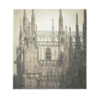 ミラノの大教会堂 ノートパッド