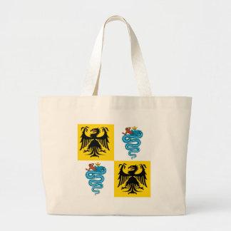 ミラノの旗(1450年)の公爵領 ラージトートバッグ