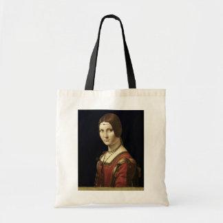 ミラノの裁判所からの女性のポートレート トートバッグ