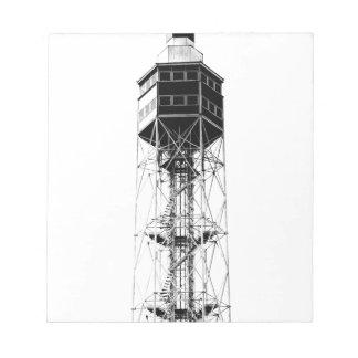 ミラノの金属タワー ノートパッド