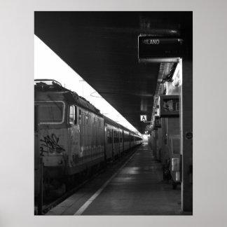 ミラノポスターへの列車ベニス ポスター