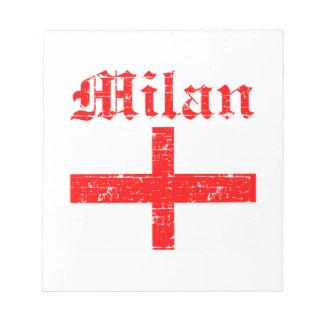 ミラノ都市デザイン ノートパッド
