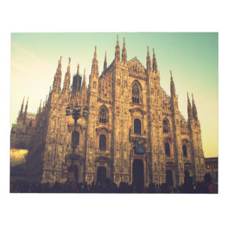 ミラノ、イタリア ノートパッド