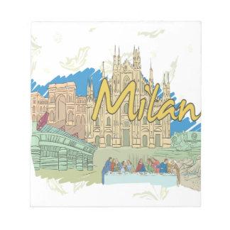 ミラノ ノートパッド