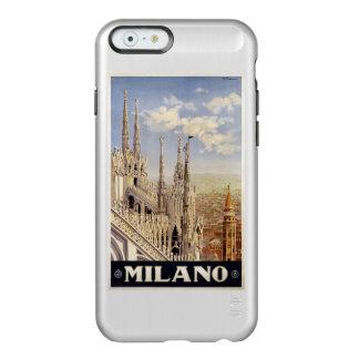 ミラノ(ミラノ)イタリアのヴィンテージ旅行ケース INCIPIO FEATHER SHINE iPhone 6ケース