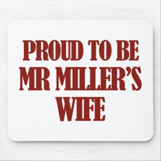ミラー夫人のデザイン マウスパッド