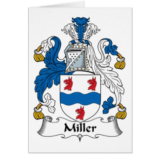 ミラー家紋 カード