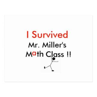 ミラーMath Class氏の ポストカード