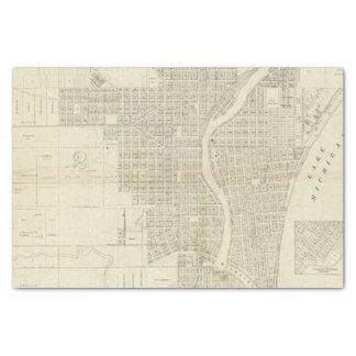 ミルウォーキーの地図 薄葉紙