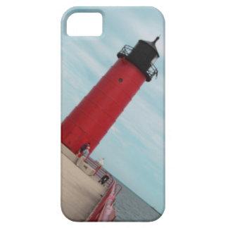 ミルウォーキーPierheadの赤い灯台iPhoneの箱 iPhone SE/5/5s ケース