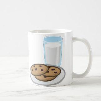 ミルクおよびクッキーのマグ コーヒーマグカップ