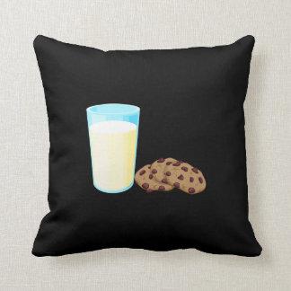 ミルクおよびクッキーの枕 クッション