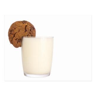 ミルクおよびクッキー ポストカード