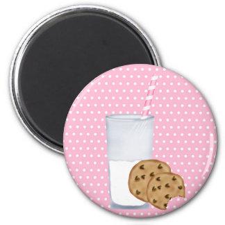 ミルクおよびクッキー マグネット