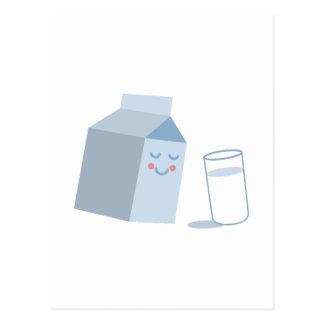 ミルクのカートン ポストカード