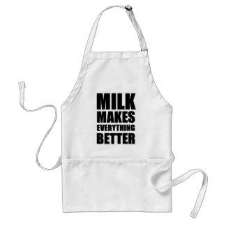 ミルクはすべてをよりよくさせます スタンダードエプロン