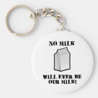 ミルクは私達のミルクではないです キーホルダー