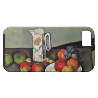 ミルク水差しおよびフルーツ、c.1886-90 (油が付いている静物画 iPhone SE/5/5s ケース