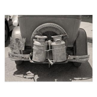 ミルクCans 1939年 ポストカード