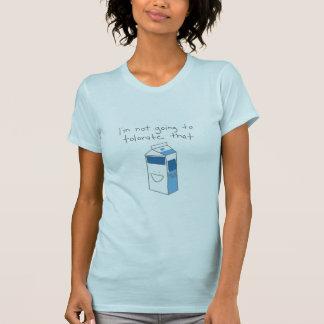 ミルクIntolorance Tシャツ