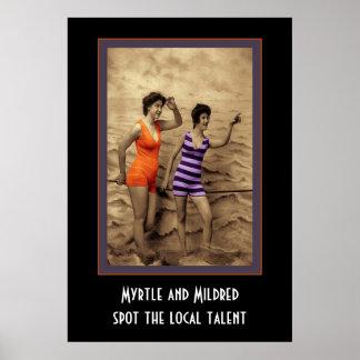 ミルテおよびMildred ポスター