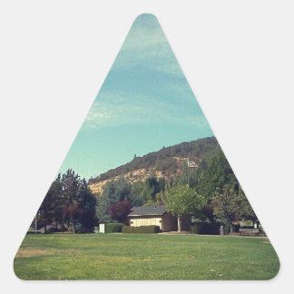 ミルテの入り江、オレゴン 三角形シール