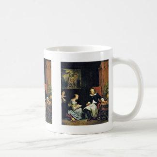 ミルトンは彼の娘に定まりました コーヒーマグカップ
