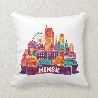 ミンスク-有名な陸標への旅行 クッション
