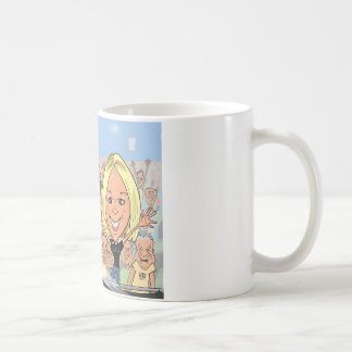 ミーガン風刺漫画 コーヒーマグカップ