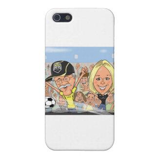 ミーガン風刺漫画 iPhone 5 カバー