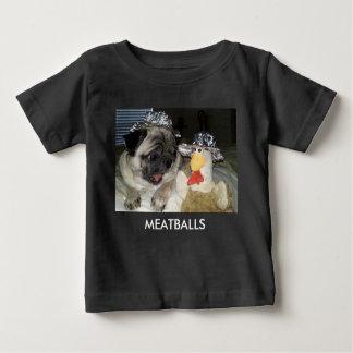 ミートボール ベビーTシャツ