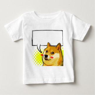 ミームがあなた自身の文字のミームを加える総督をカスタマイズ ベビーTシャツ