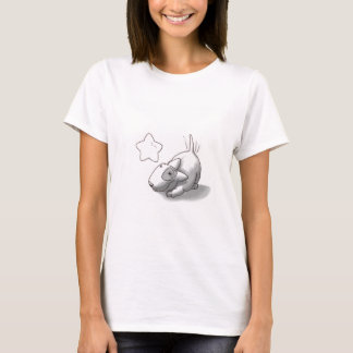 ミーロおよび星(オリジナルのアートワーク) Tシャツ