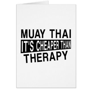 ムエタイそれはセラピーより安いです カード