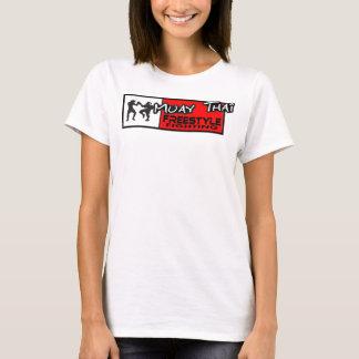 ムエタイのフリースタイルスパゲッティ上 Tシャツ