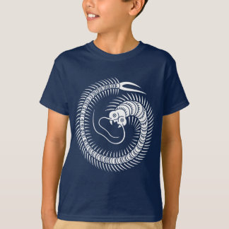 ムカデの円 Tシャツ
