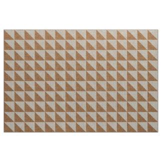 ムギのバーラップおよび麻布の三角形の幾何学的なインディ ファブリック