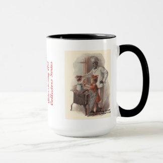 ムギの広告芸術のマグ#12のクリーム マグカップ