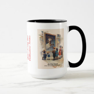 ムギの広告芸術のマグ#2のクリーム マグカップ