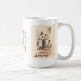 ムギの広告芸術のマグ#20のクリーム コーヒーマグカップ