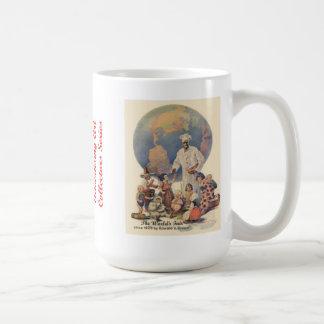 ムギの広告芸術のマグ#3のクリーム コーヒーマグカップ