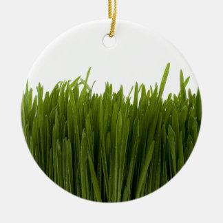 ムギの草のオーナメント セラミックオーナメント