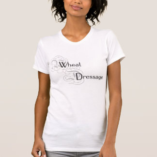 ムギの馬場馬術のロゴ-黒 Tシャツ