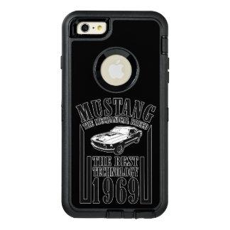 ムスタングの機械式 オッターボックスディフェンダーiPhoneケース