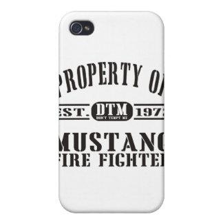 ムスタングの消防士 iPhone 4 ケース