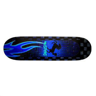 ムスタングの馬のスケートボード 20.6CM スケートボードデッキ