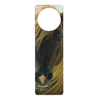 ムスタングの馬 ドアノブプレート