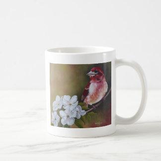 ムラサキマシコのマグ コーヒーマグカップ