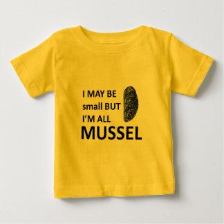 ムラサキ貝のサイズ ベビーTシャツ