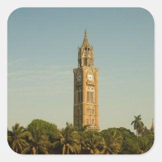 ムンバイの時計台 スクエアシール